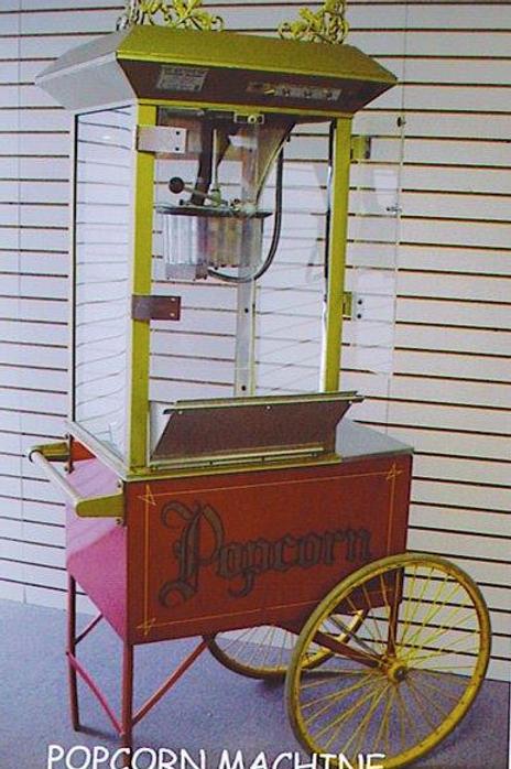 Popcorn Machine w/ Cart -Large