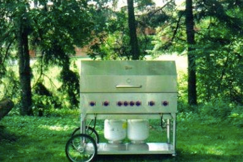 BBQ Propane 2' x 4' - w/ Grill and Dome