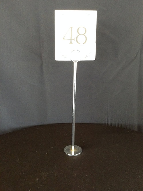 "12"" Table Number Stand"