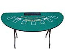 Black Jack Table w/ Card Shoe