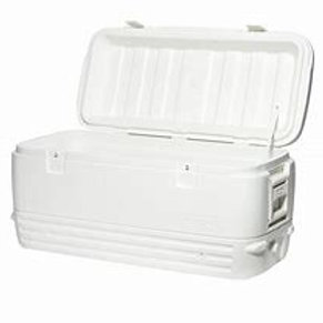 "Large white Cooler 40"" x 17"" x 22"" - 164 can"