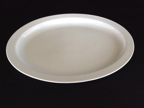 "WC - 13"" White Platter"