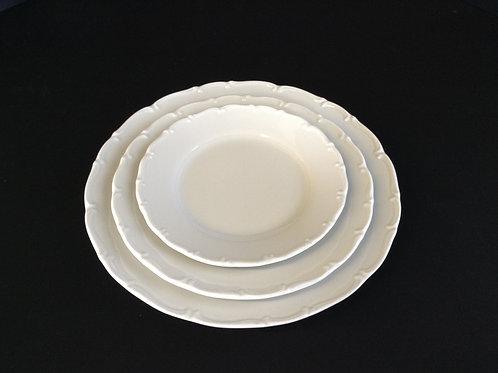 """Snow Drop Plates 10""""/ 8""""/6"""""""