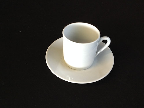 Espresso Cup & Saucer - Tall