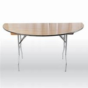 "Half Moon Table - 60""w x 30""d"