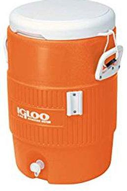 Orange 10 Gallon Jug