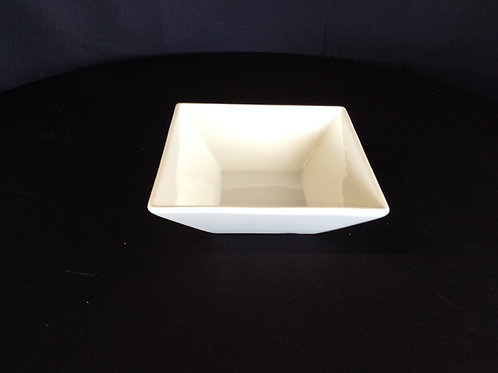 "6-1/2"" x 6-1/2"" at top Square Bowl"