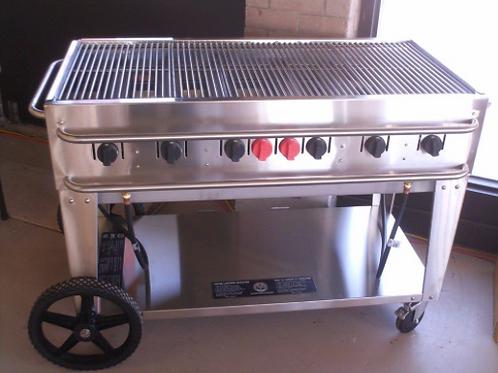 BBQ Propane 2' x 4' - w/ Grill