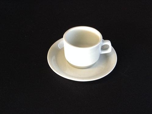 Espresso Cup & Saucer - short