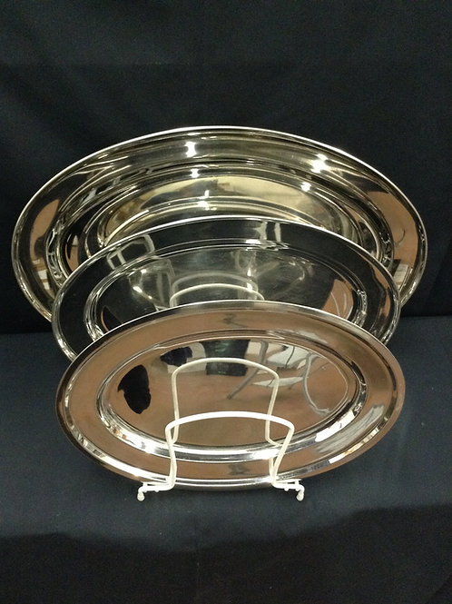 Oval Stainless Tray