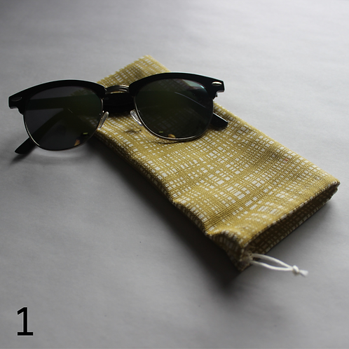 Patterned Drawstring Glasses Cases