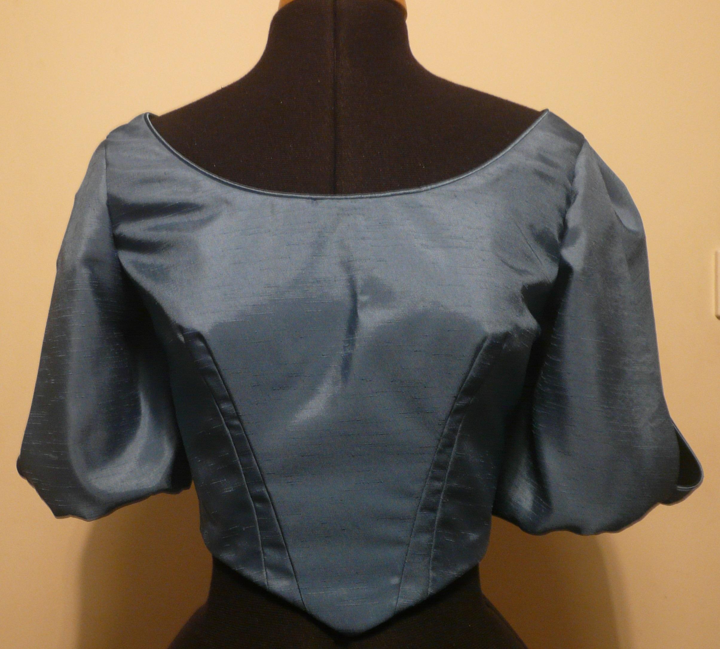 1860s Bodice - Aimee Lou Costume