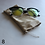 Thumbnail: Natural/Metallic Drawstring Glasses Cases