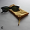 Thumbnail: Green/Yellow Drawstring Glasses Cases