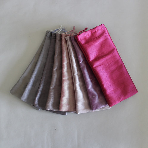 Pink/Purple Drawstring Glasses Cases