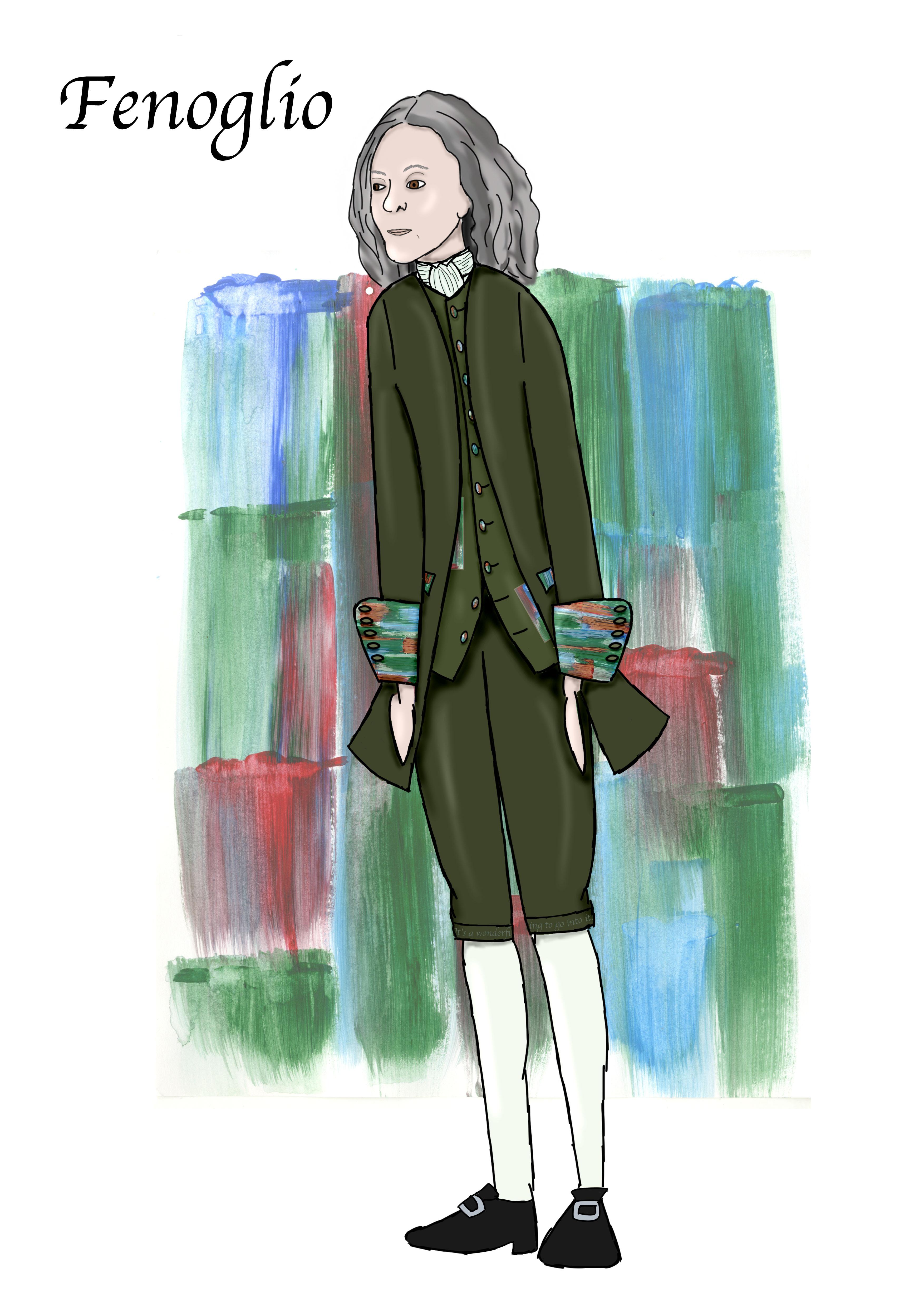 Inkheart - FenoglioFinal Design - Aimee Lou Costume