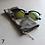 Thumbnail: Grey/Silver Drawstring Glasses Cases