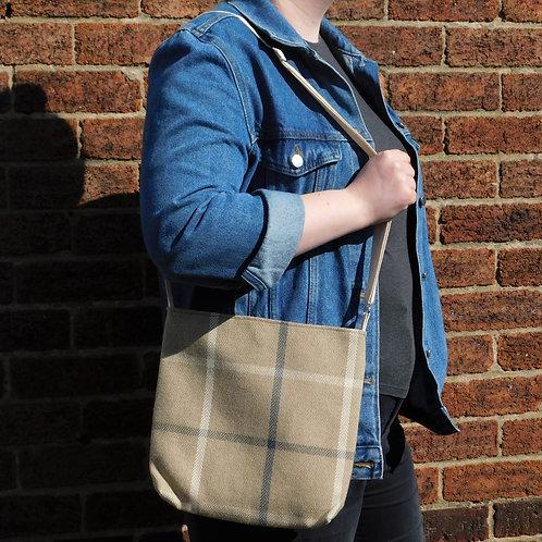 Medium Handbag - Large Brown Check