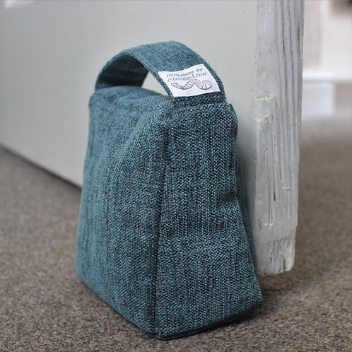 Wedge Doorstop - Dark Teal