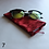 Thumbnail: Orange/Red Drawstring Glasses Cases