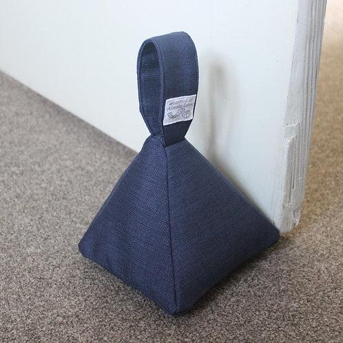 Pyramid Doorstop - Blue