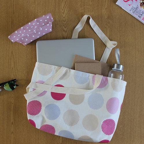 Tote Bag - Pink Spot