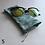 Thumbnail: Blue/Teal Drawstring Glasses Cases