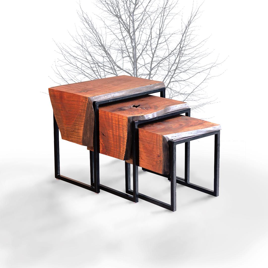 Plank nesting table