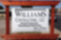 Williams Contracting Logo Sign Only.PNG