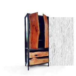 Plank cabinet