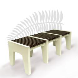 Corbel bench