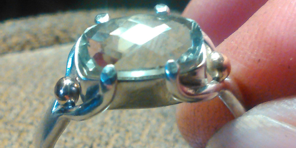Three Week Class Pedestal and Prong Ring
