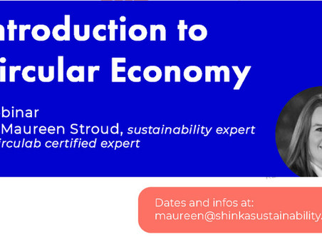 Introduction to Circular Economy Webinar