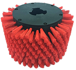 MotorScrubber Red Stair Brush