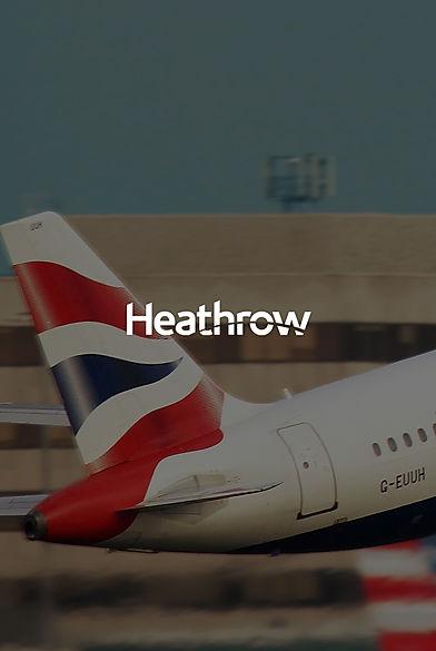 British Airways plane taking off from airport.