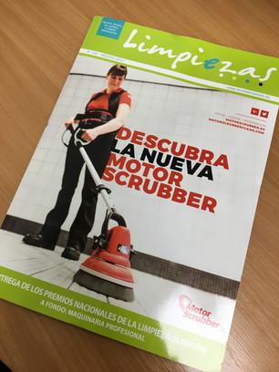 MotorScrubber Feature in Limpiezas Magazine