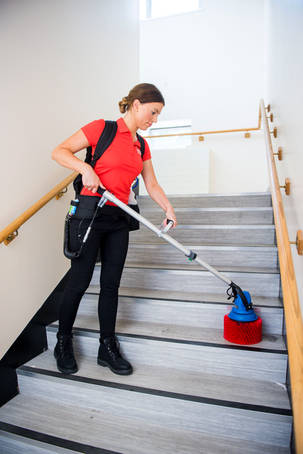 Stair Cleaning