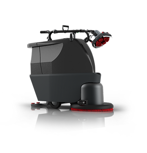 MotorScrubber FORCE fitted to large scrubber dryer