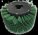 MotorScrubber Green Grit Brush