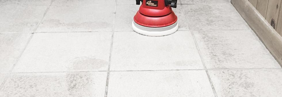 Melamine Pad results on tiled floors