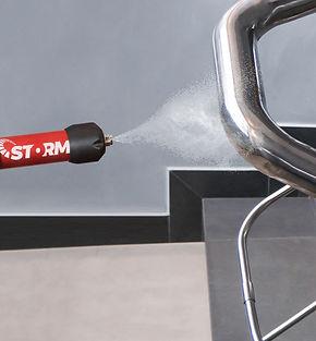 MotorScrubebr STORM spraying handrail