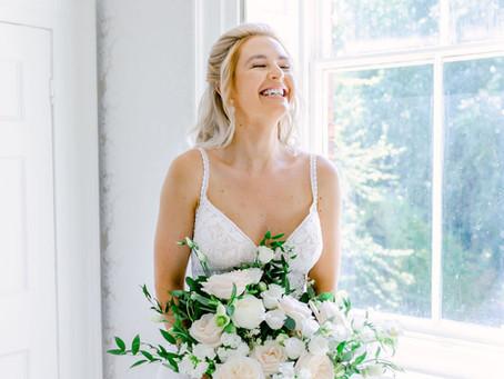 Dreamy Elegant Bridal Shoot at Hirst Priory
