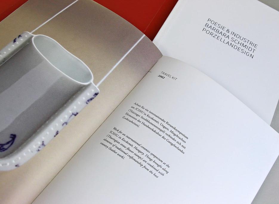Bauhaus Archiv Berlin - Barbara Schmidt Ausstellung | elsakuno editorial design für ausstellung