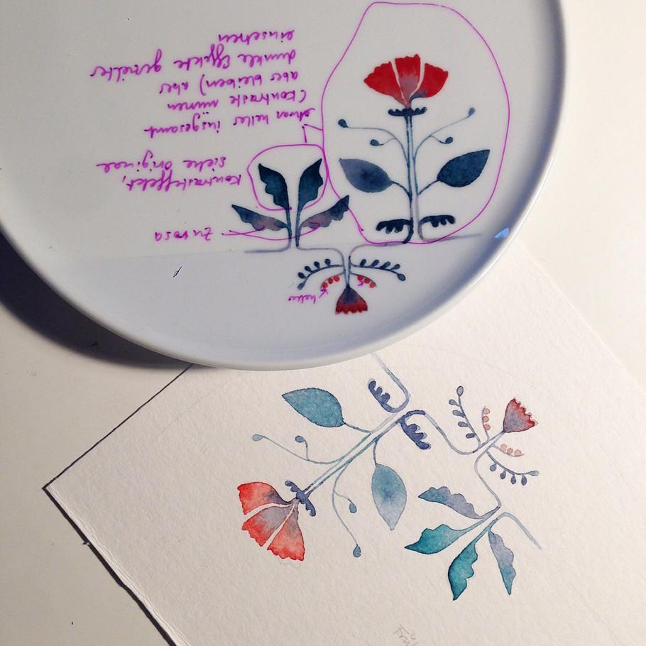Fable Fleur - designed by Lisa Keller