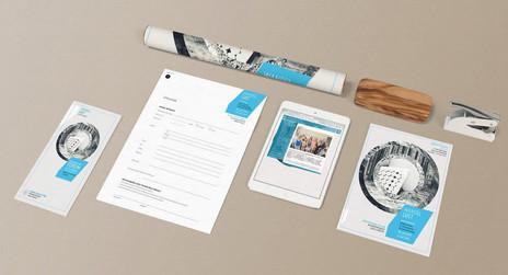 Günther Raithel Stiftung KAHLA kreativ | elsakuno brand & editorial design für ausstellungen