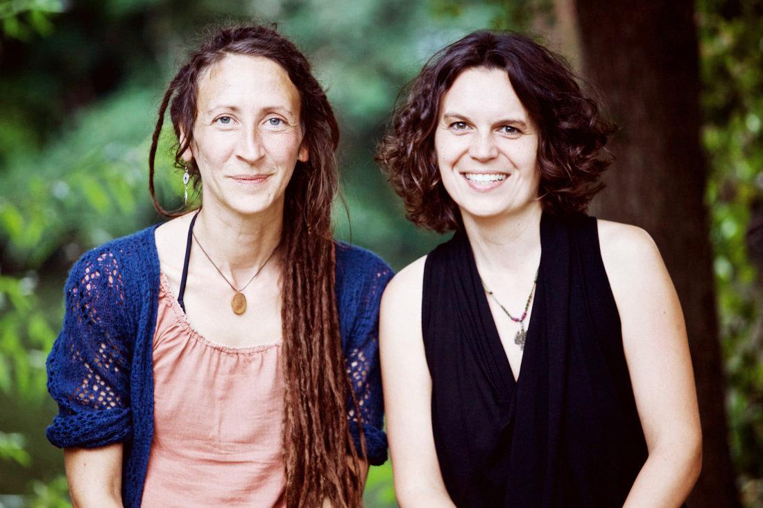 Karin Feißel und Caroline Winning