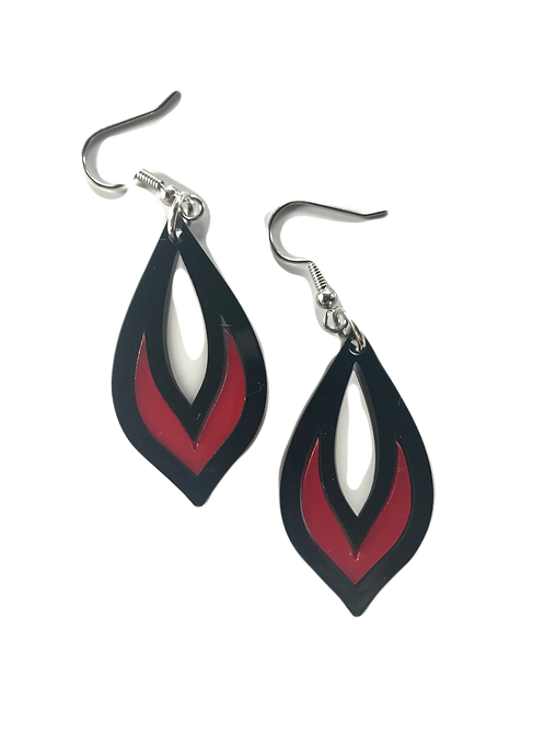 Tricolor Earring