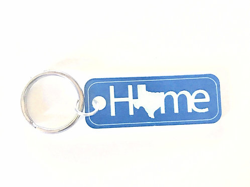 Texas Home Key Tag