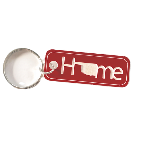 Oklahoma Home Key Tag