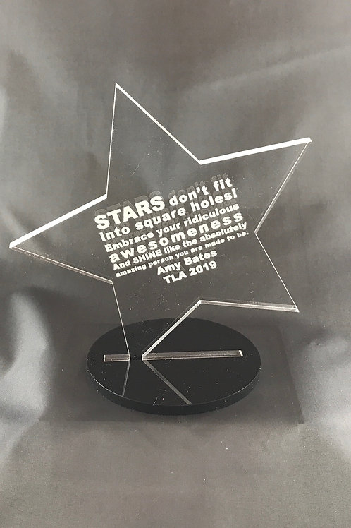 Etched and Shaped Award